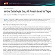 In the Zettabyte Era, All Roads Lead to Tape