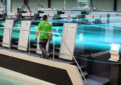 How Heidelberg uses tape and disk to keep the presses rolling